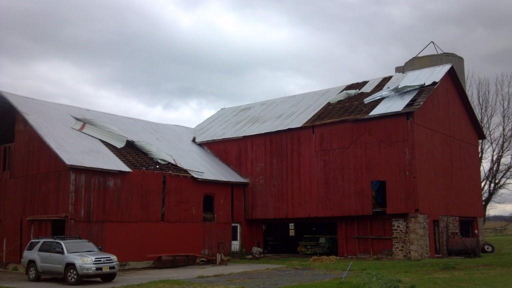 Superstorm Sandy Roof Damage