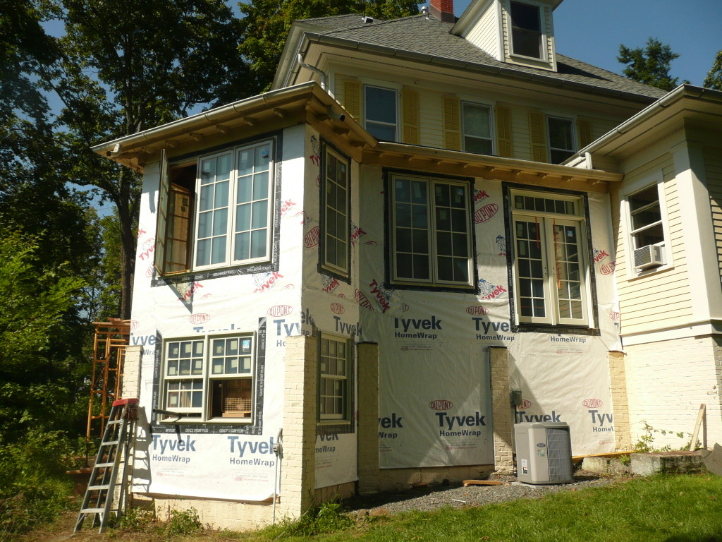 Stirling, NJ Porch Renovation in progress